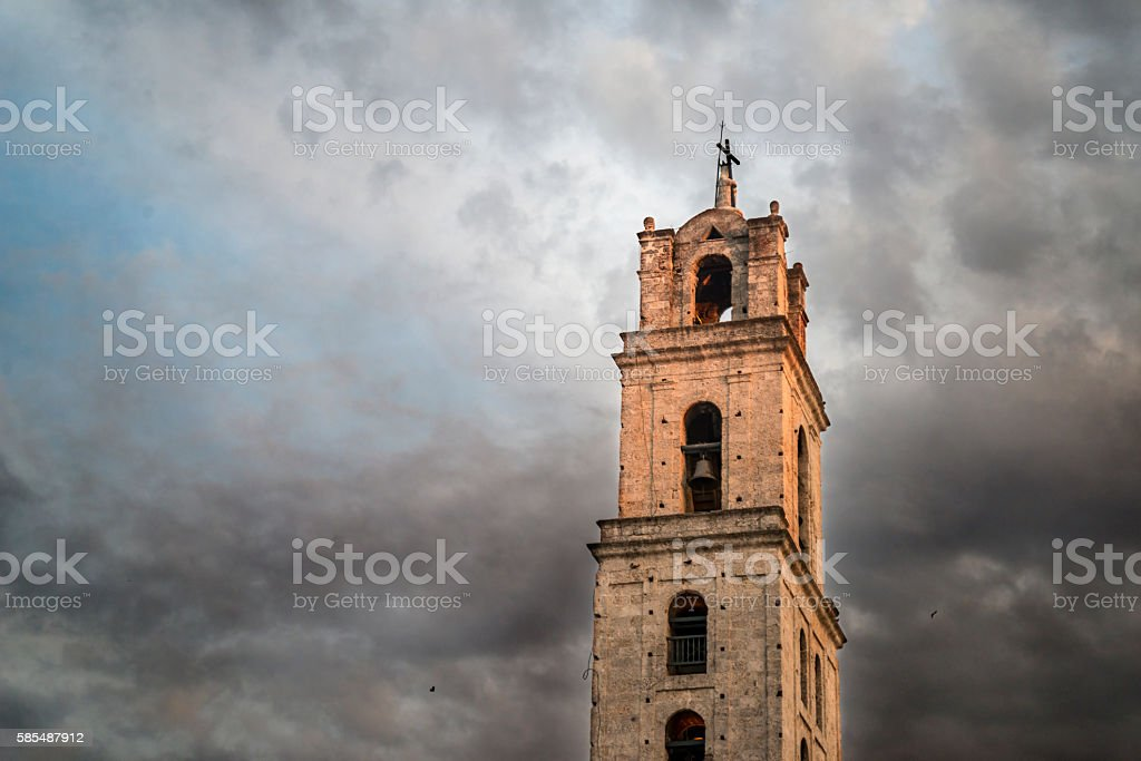 baroque architecture in Havana stock photo
