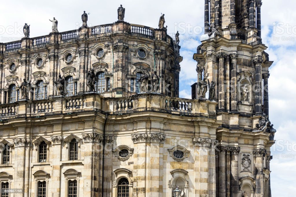 Baroque building Zwinger stock photo