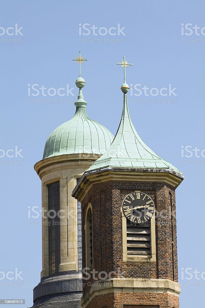 Baroque Church Clemenskirche in M?nster royalty-free stock photo