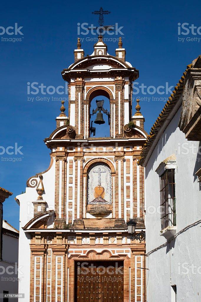 Baroque Church Of Charity, Carmona, Seville,Spain. stock photo