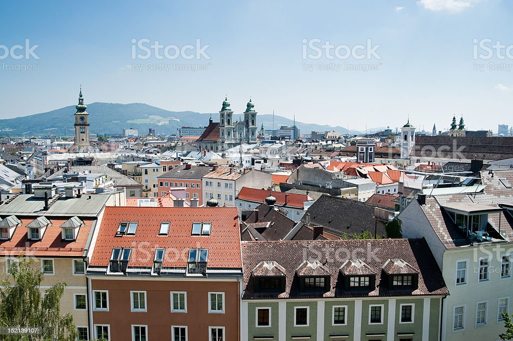 Baroque City stock photo