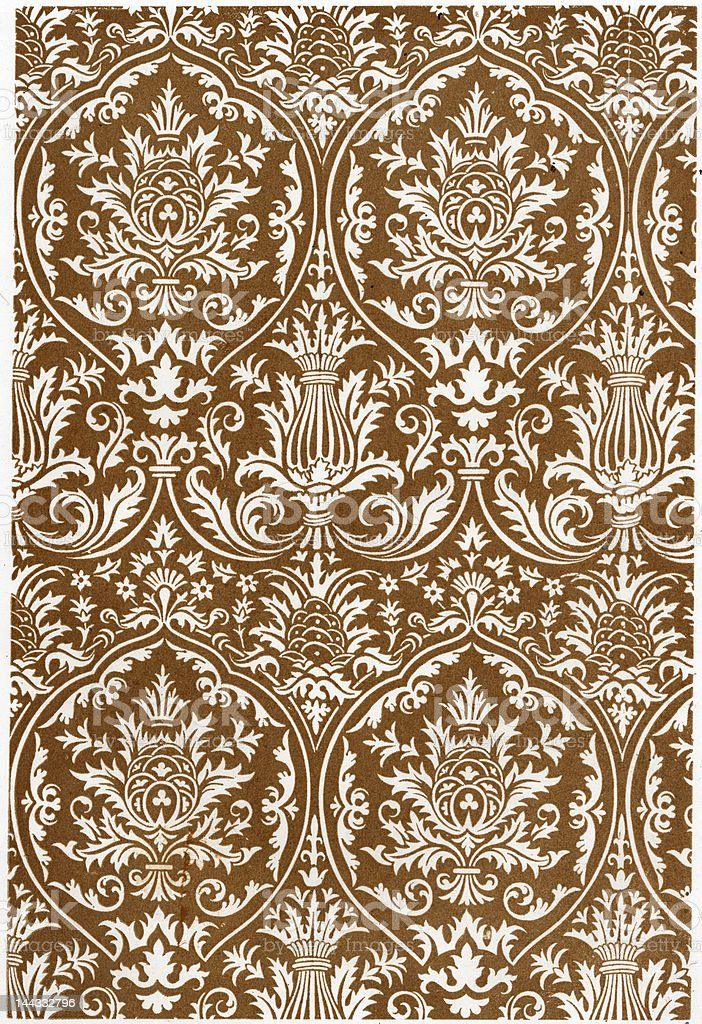 baroque damask renaissance all over repeating background