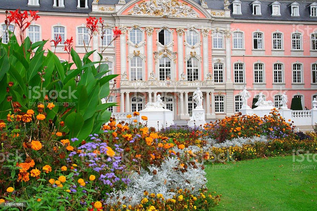 Baroque Palace and Garden stock photo