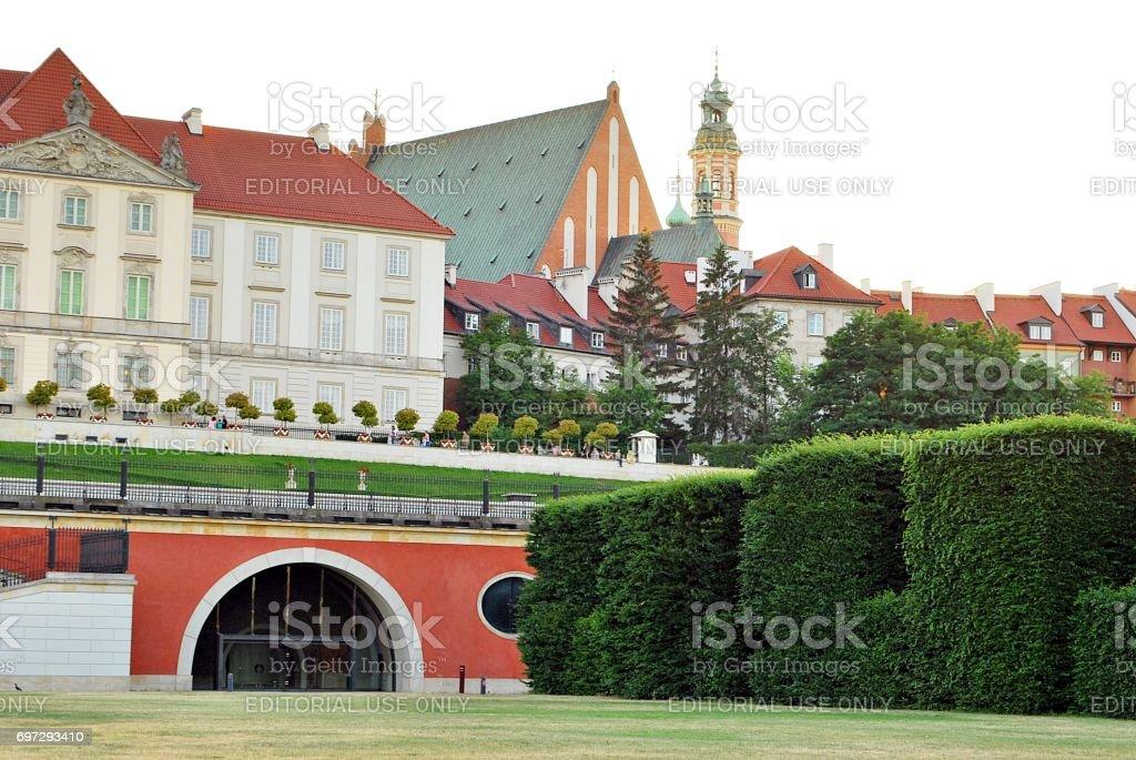 Baroque Royal Palace stock photo