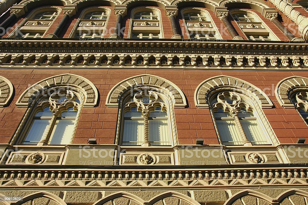 Baroque style in architecture royalty-free stock photo