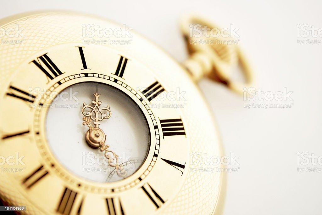 Baroque Timepiece royalty-free stock photo