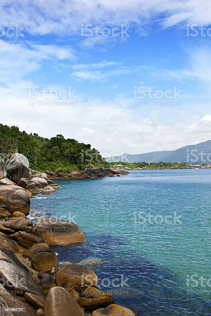 Barra da Lagoa, Florianopolis - Brazil stock photo