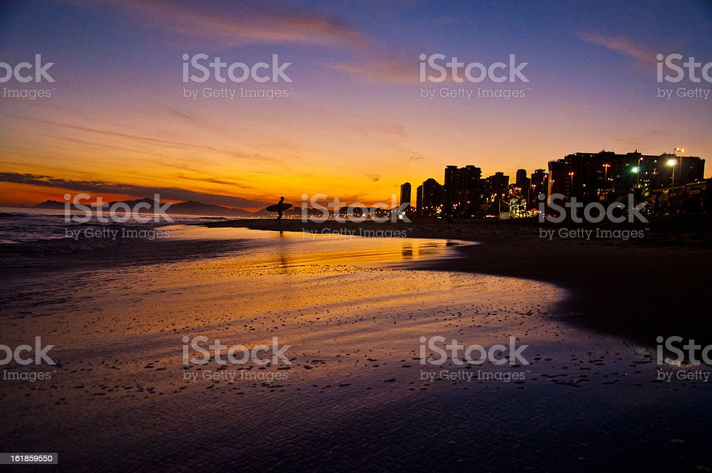 Barra da Tijuca, Rio de Janeiro, Brazil. stock photo