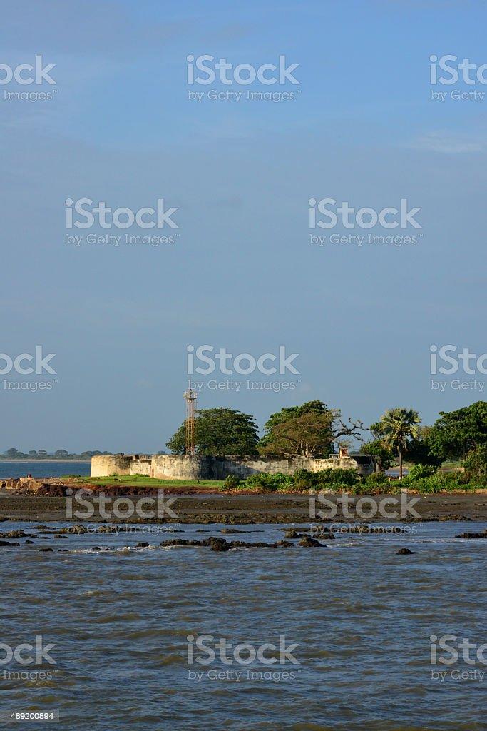 Barra, The Gambia: Fort Bullen stock photo