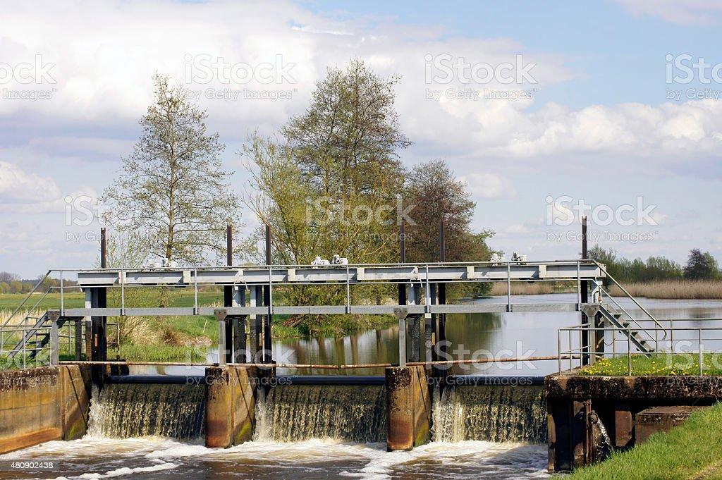 Barrage stock photo