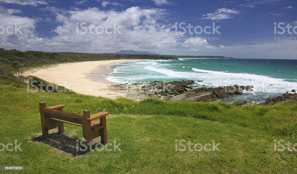 Barragga Bay, New South Wales, Australia royalty-free stock photo
