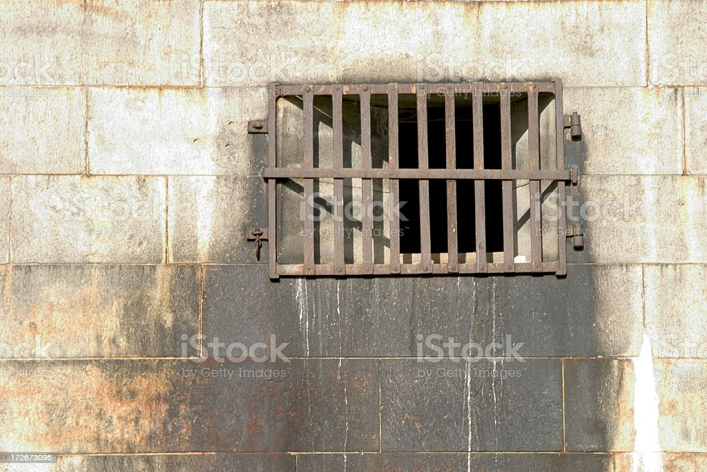 Barred stock photo