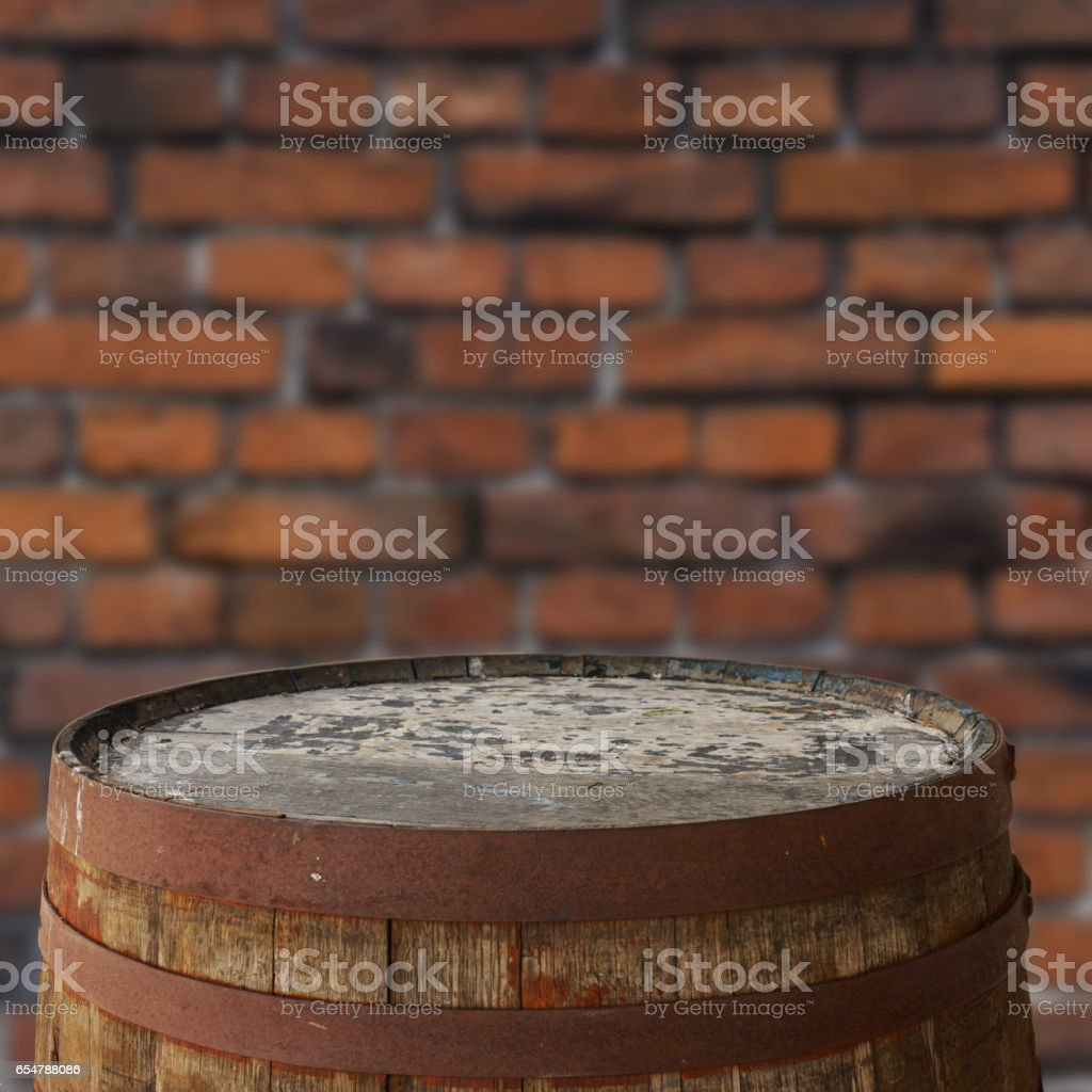 Barrel background stock photo