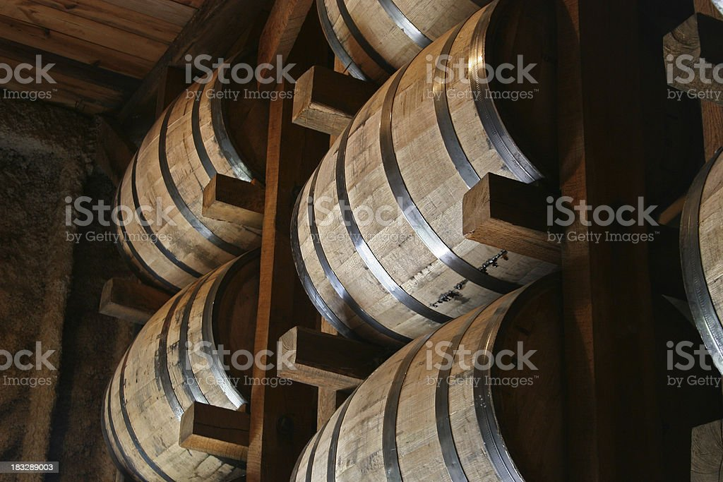 Barrel House stock photo