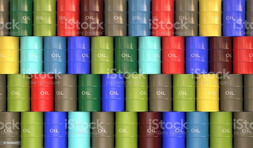 Barrel Oil stock photo
