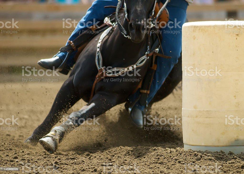 Barrel Racing #1 stock photo