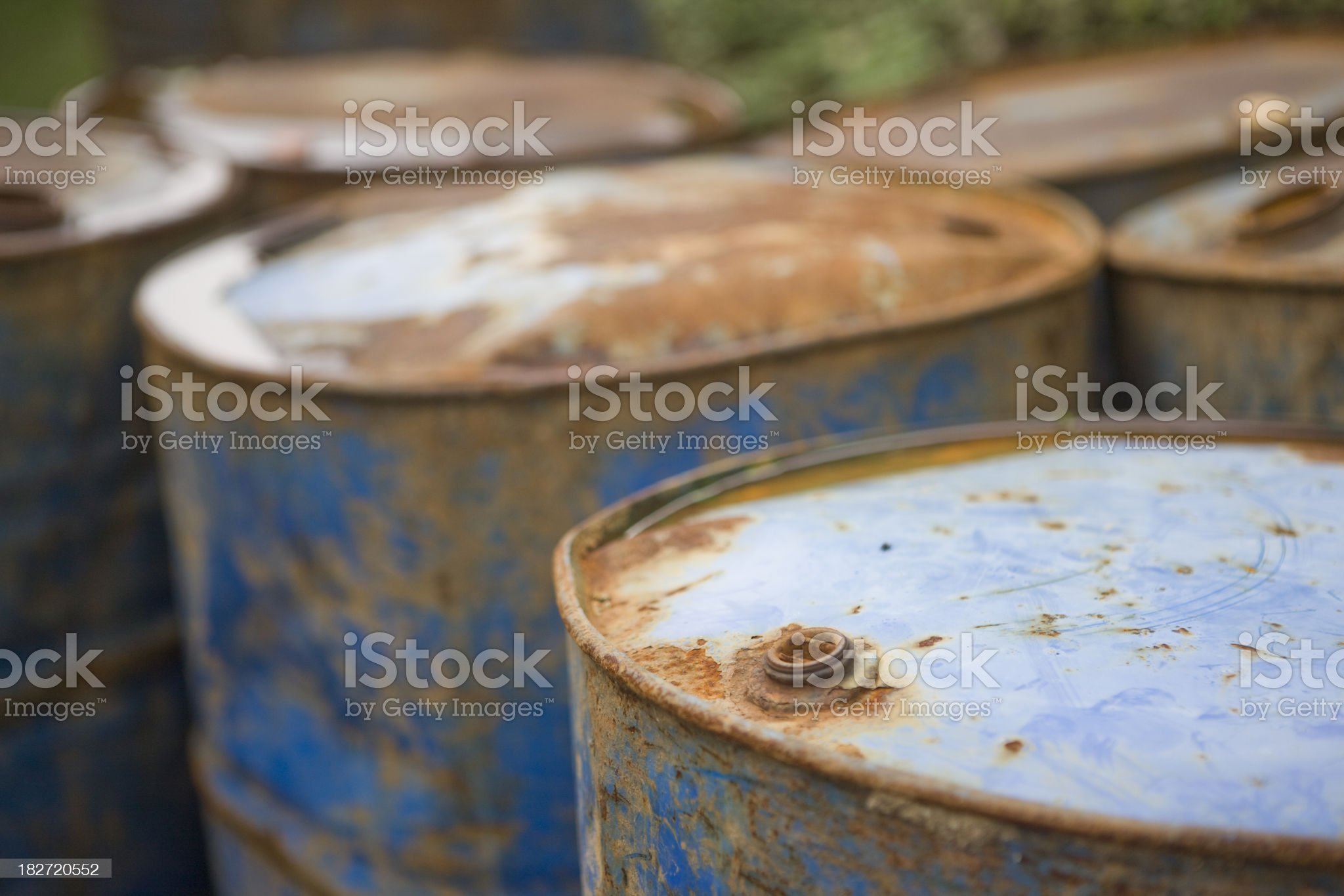Barrels royalty-free stock photo