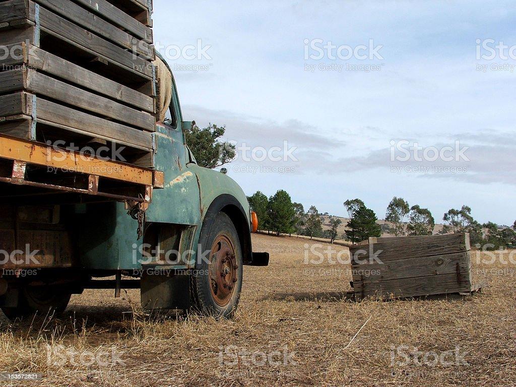 Barren Land stock photo