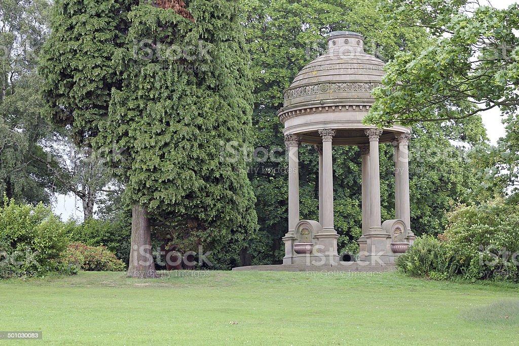 Barrens Victorian water Fountain stock photo