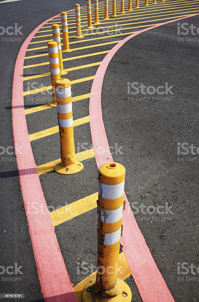 barricade royalty-free stock photo