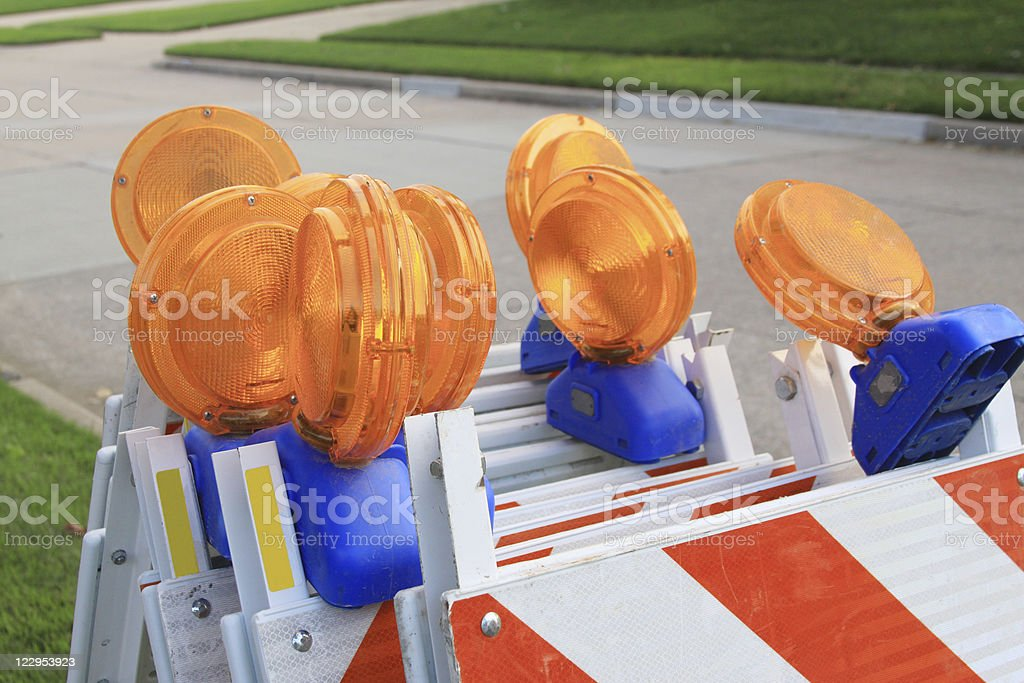 Barricades royalty-free stock photo