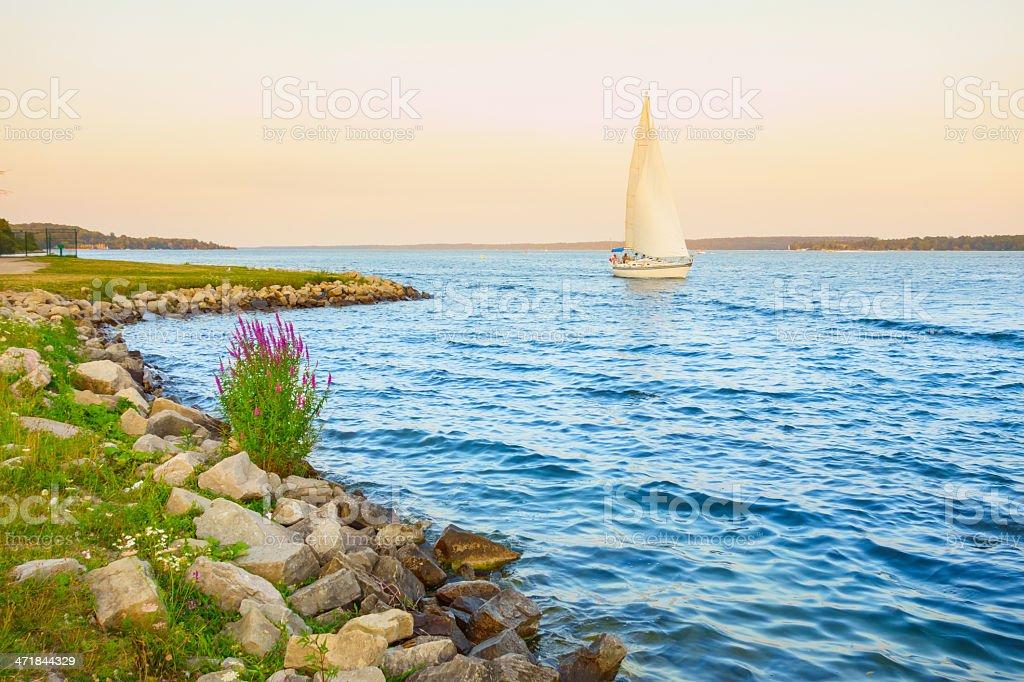 Barrie, Lake Simcoe, Ontario, Canada stock photo