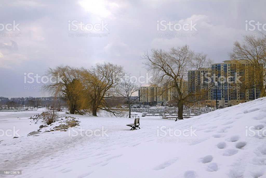 Barrie Waterfront stock photo
