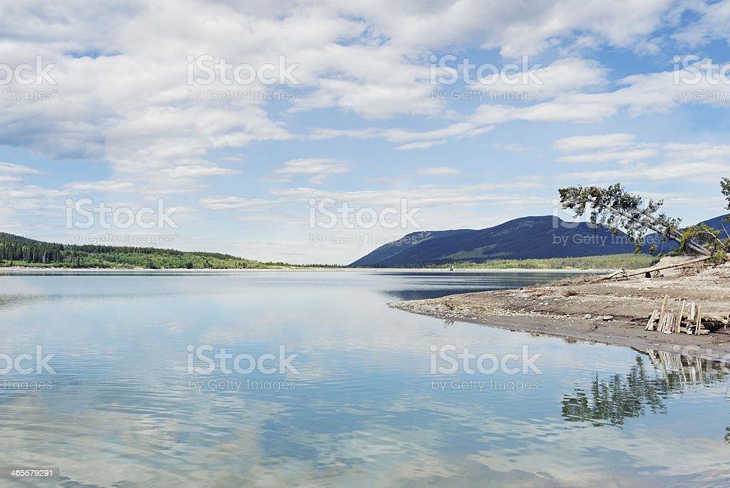 Barrier Lake royalty-free stock photo