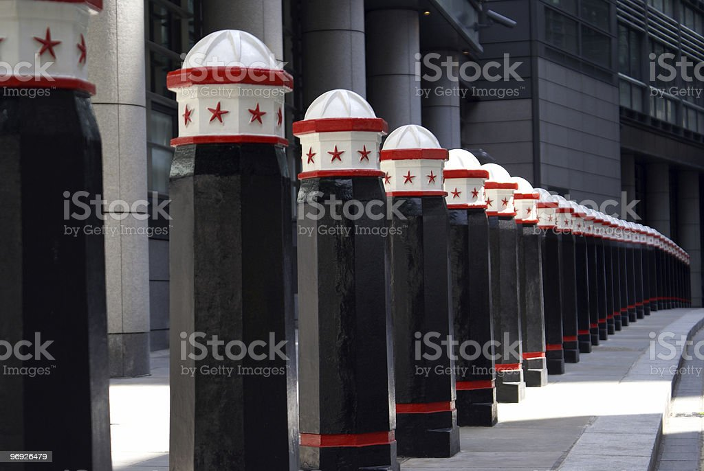Barrier royalty-free stock photo