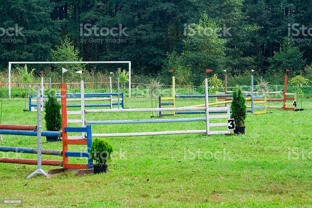 barriers royalty-free stock photo