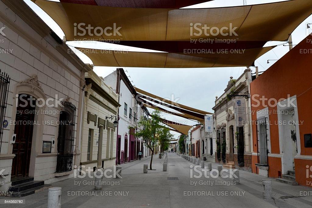 Barrio Antiguo, Monterrey stock photo