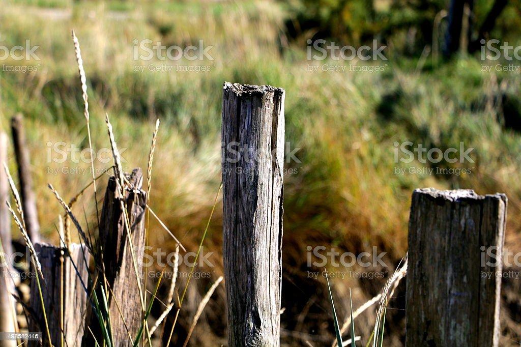 Barrière de prairie stock photo