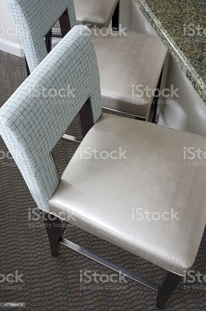Barstools royalty-free stock photo