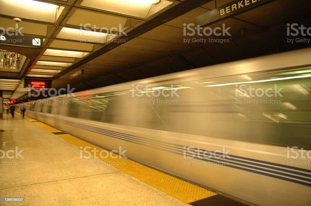 Bart Underground stock photo