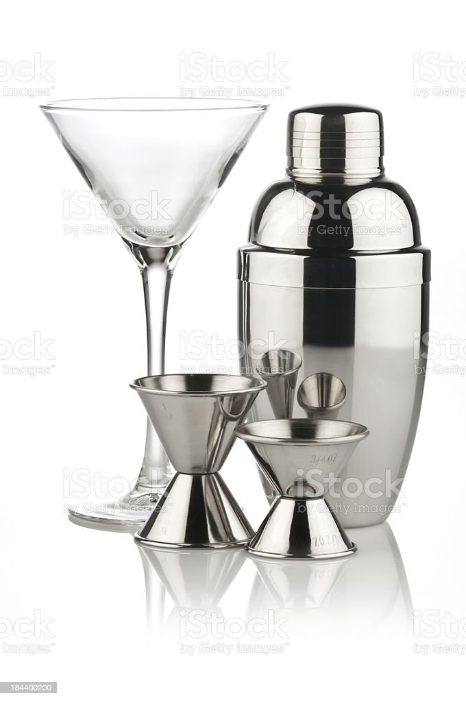 Bartender Utensils stock photo