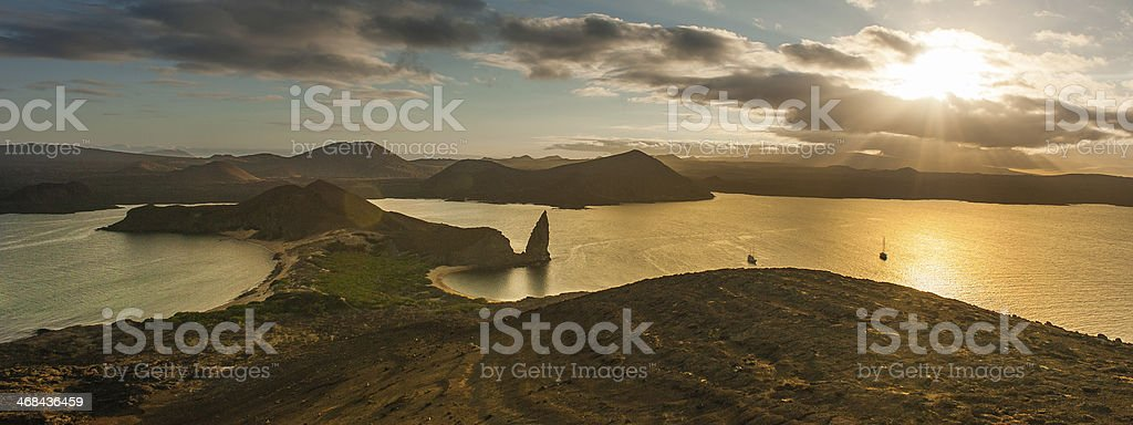 Bartolome Island in Galapagos, Ecuador royalty-free stock photo