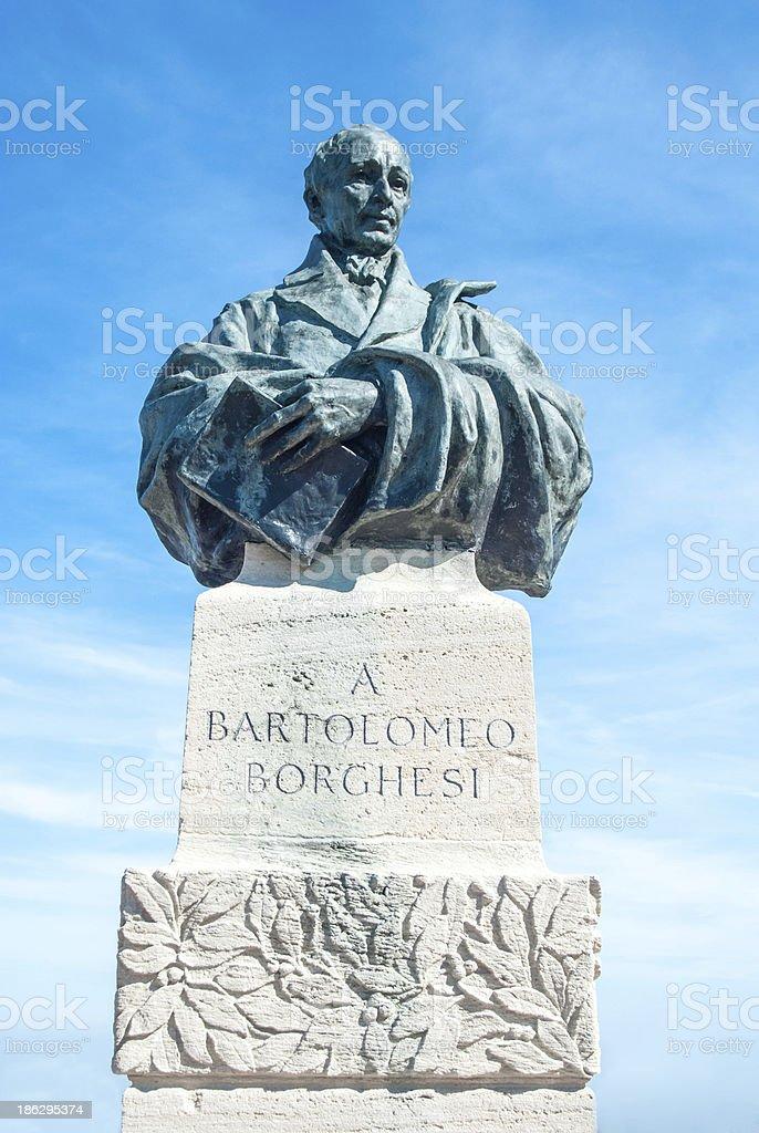 Bartolomeo Borghesi stock photo
