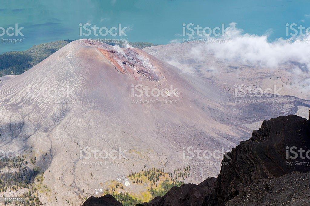 barujari mount stock photo