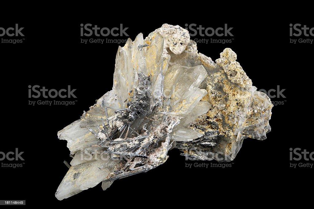 Baryte or barite stock photo