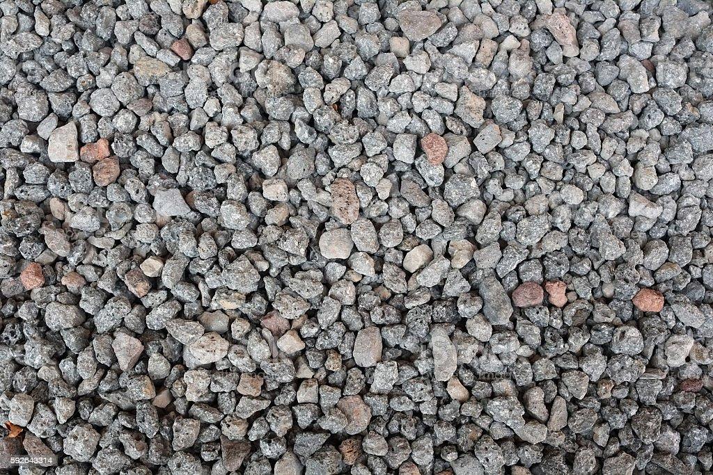 basalt in korea stock photo