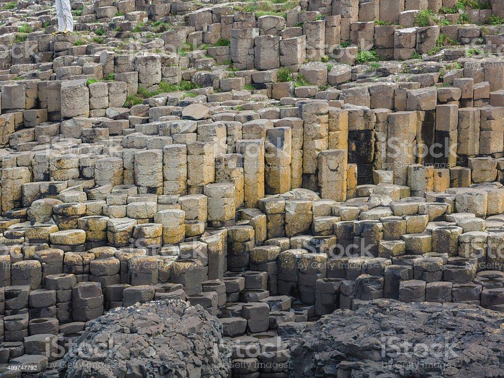 Basalt Pillars stock photo