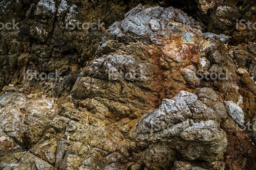 Basalt texture stock photo