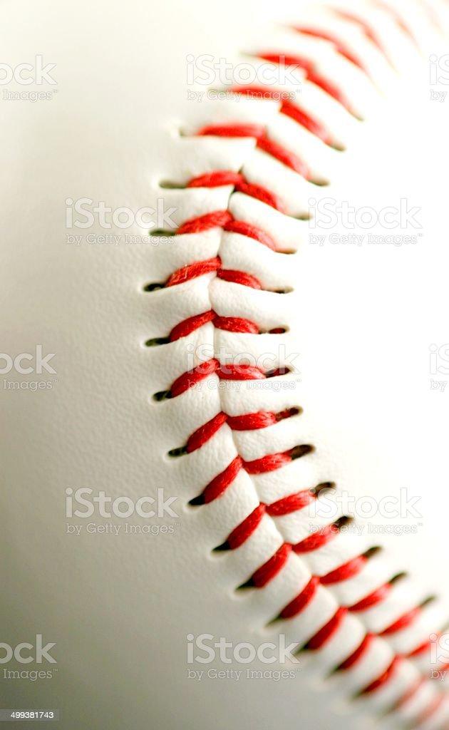Base ball close up royalty-free stock photo