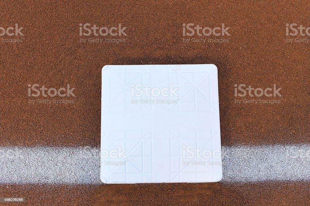 base in a baseball stock photo
