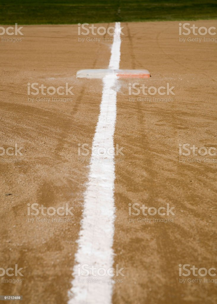 Base Line stock photo