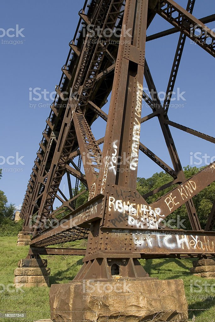 base of train royalty-free stock photo