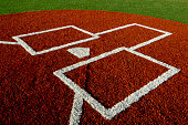 Base Paths and Home Plate