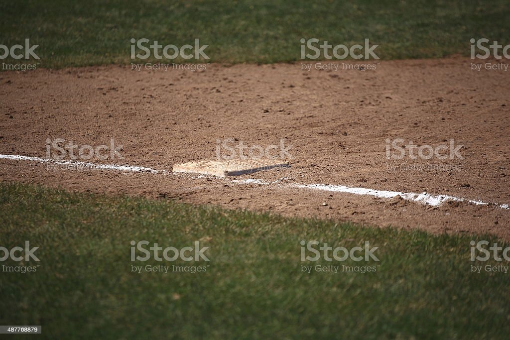 Baseball - 1st Base stock photo