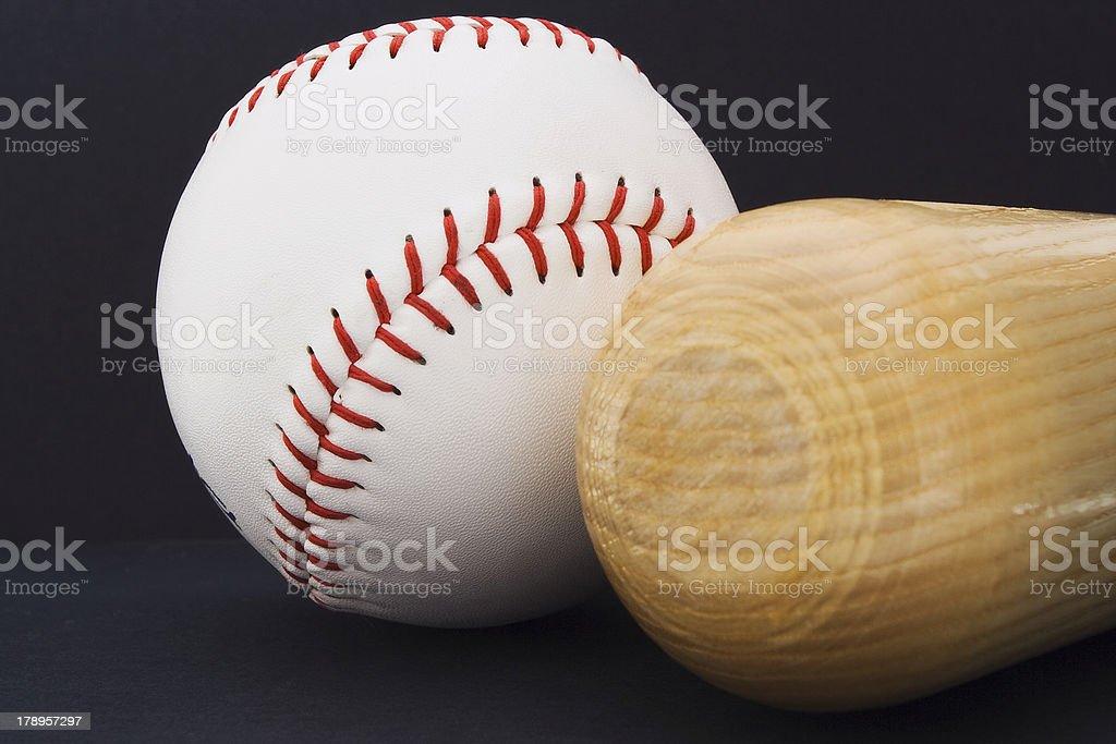 Baseball accessories royalty-free stock photo