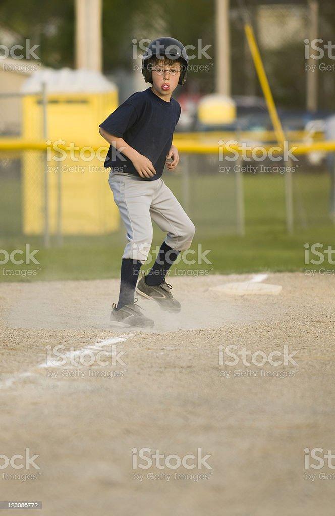 Baseball Action stock photo